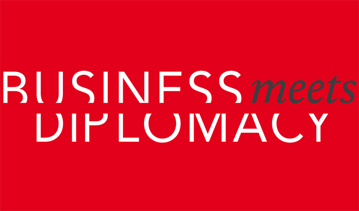 Logo Business meets Diplomycy